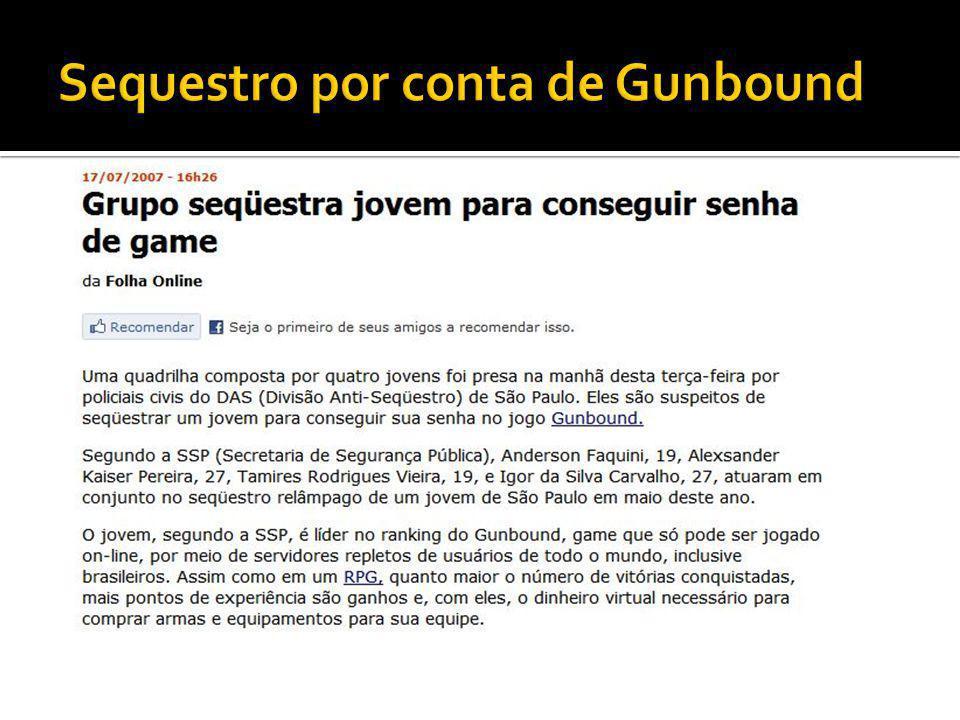 Sequestro por conta de Gunbound