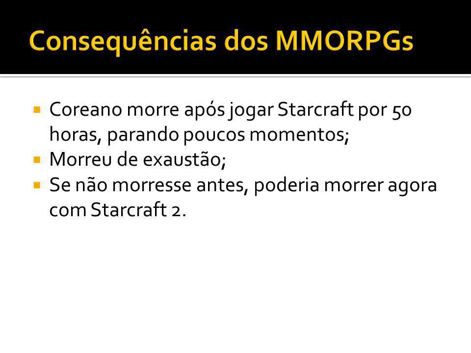 Consequências dos MMORPGs