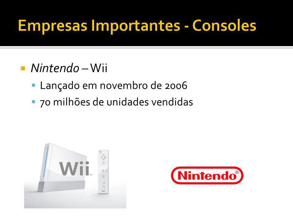Empresas Importantes - Consoles