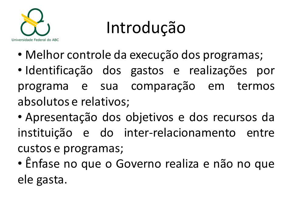 Introdução Melhor controle da execução dos programas;