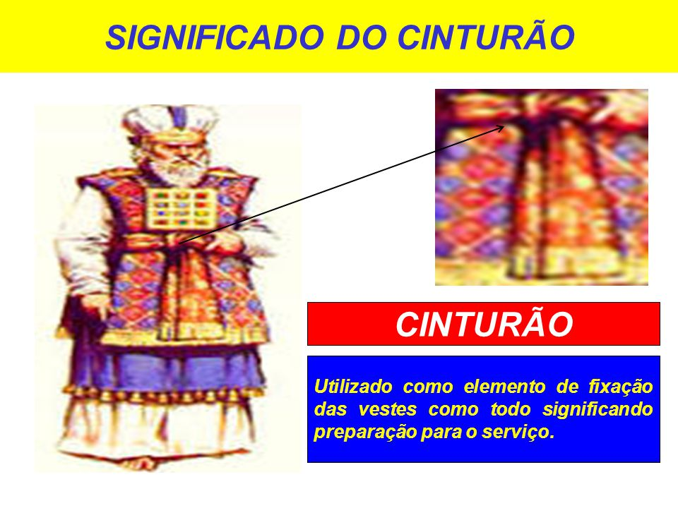 SIGNIFICADO DO CINTURÃO