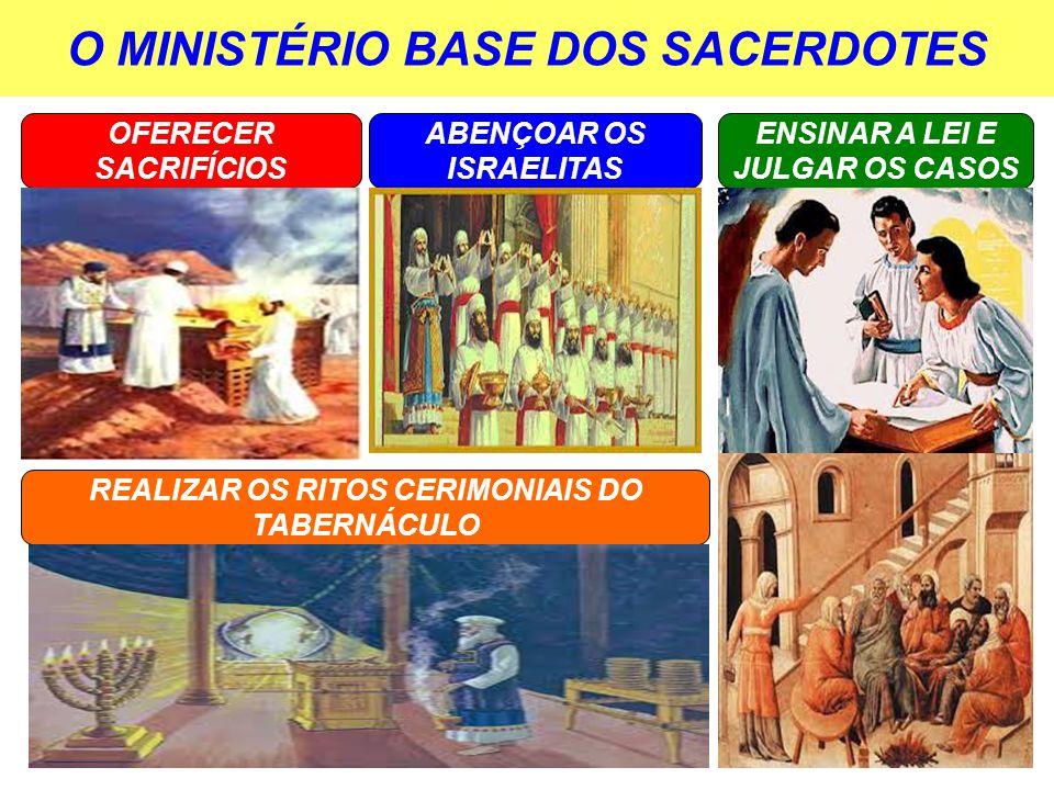 O MINISTÉRIO BASE DOS SACERDOTES