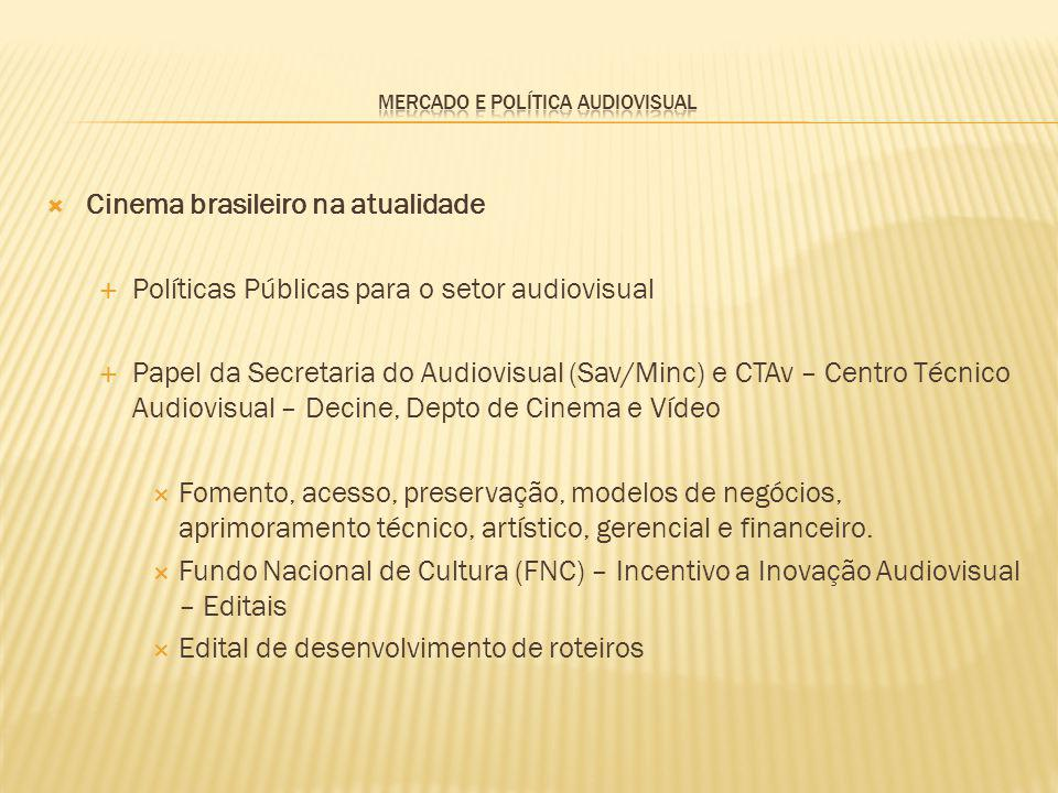 Mercado e Política Audiovisual