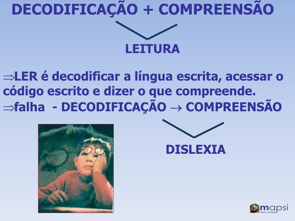 DECODIFICAÇÃO + COMPREENSÃO