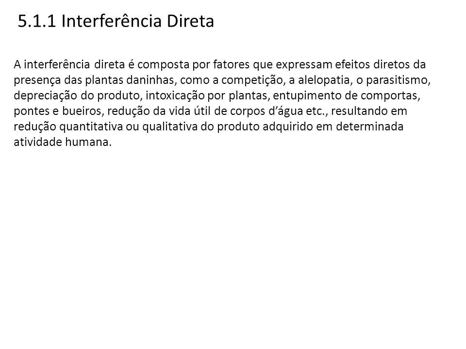 5.1.1 Interferência Direta