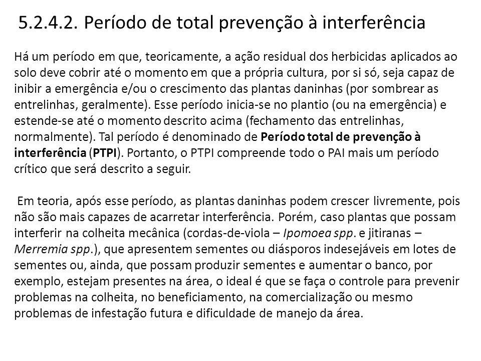 5.2.4.2. Período de total prevenção à interferência