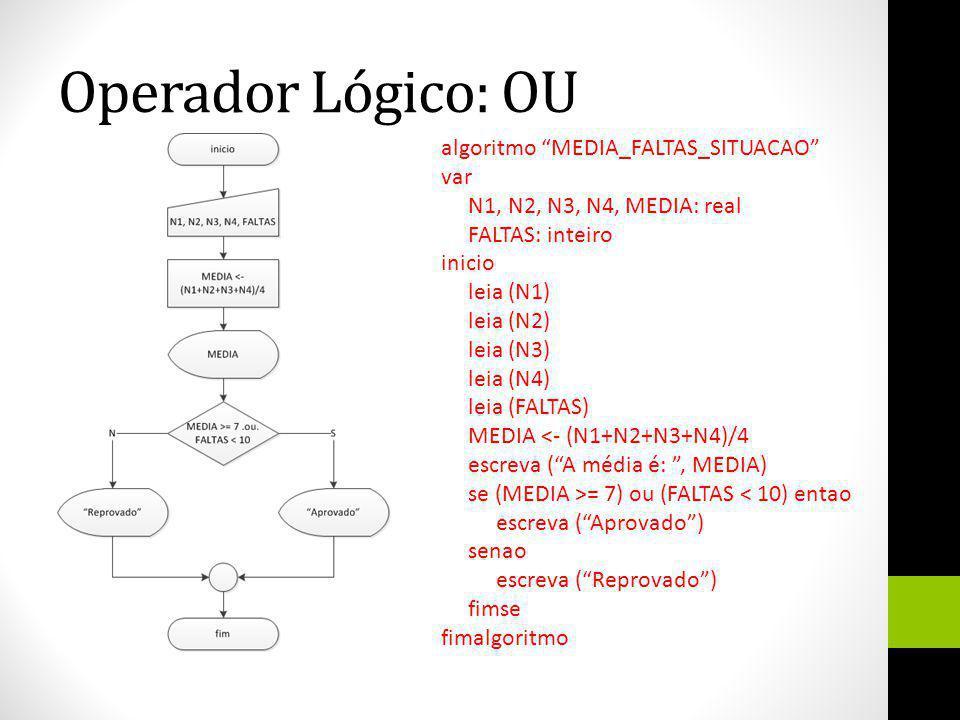 Operador Lógico: OU