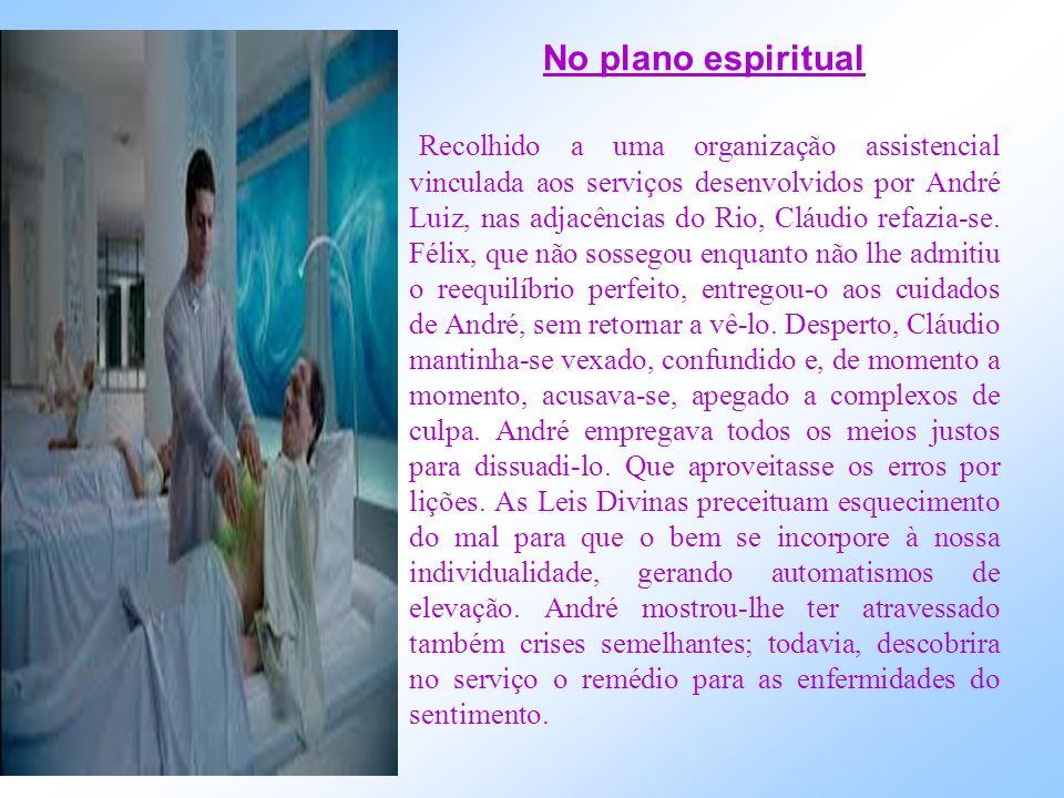 No plano espiritual