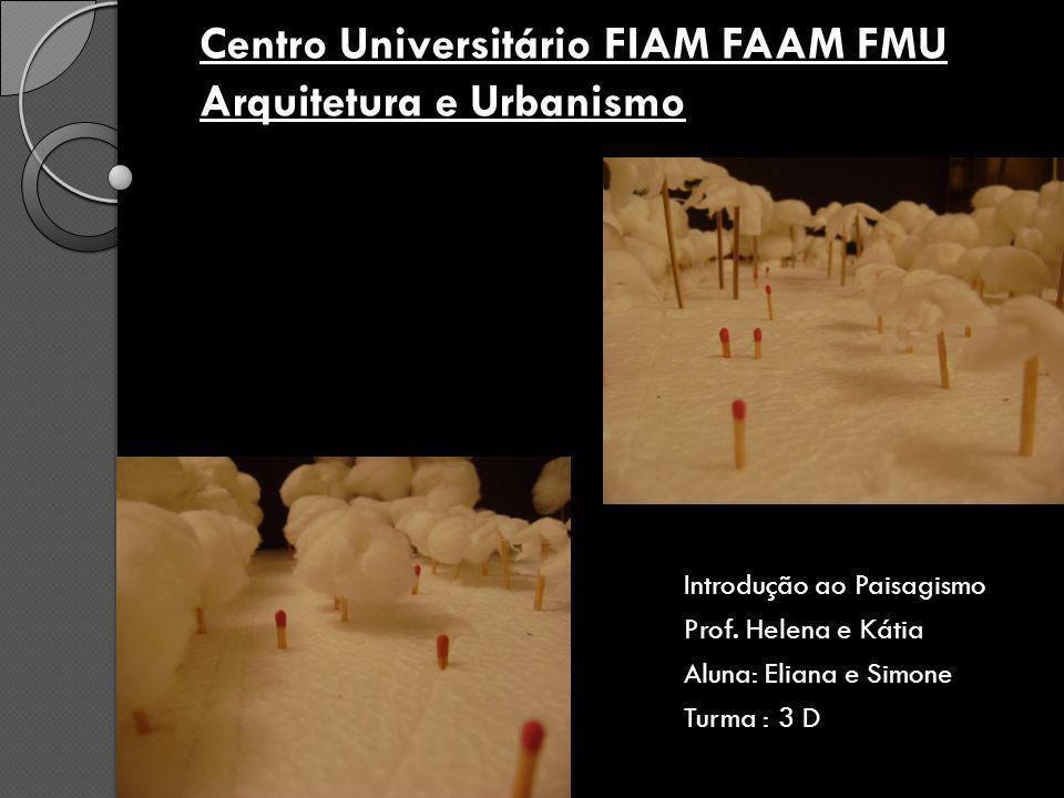 Centro Universitário FIAM FAAM FMU Arquitetura e Urbanismo