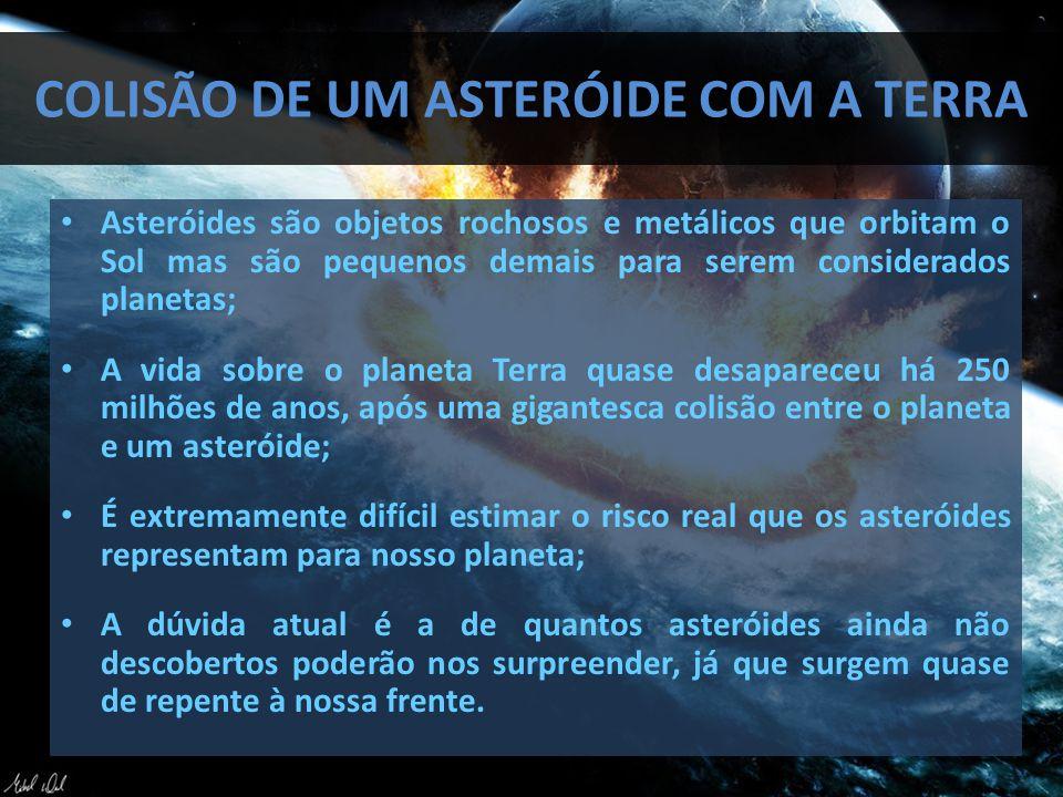 Colisão de um asteróide com a Terra