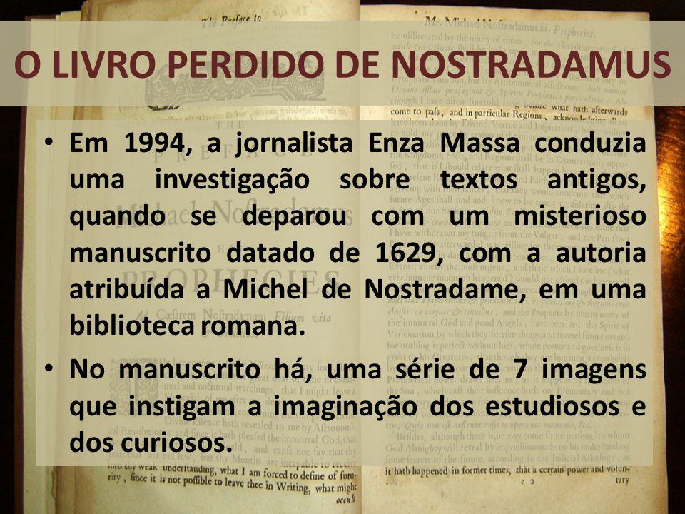 O Livro Perdido de Nostradamus
