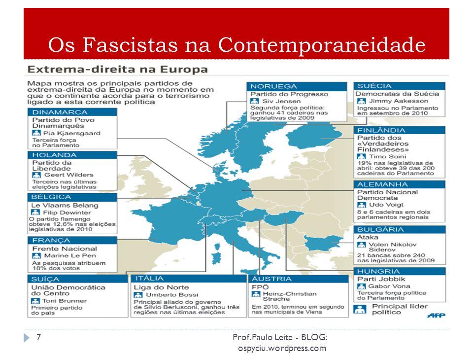 Os Fascistas na Contemporaneidade