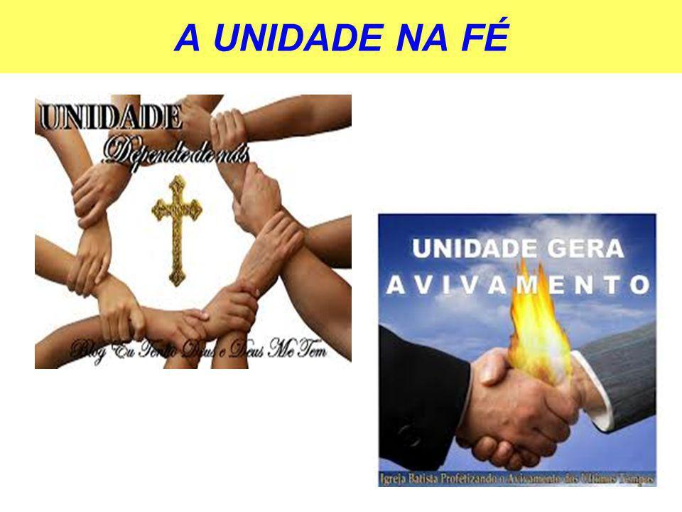 A UNIDADE NA FÉ 11
