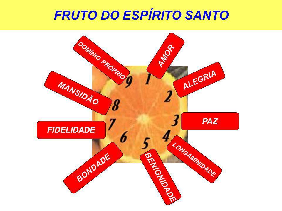 FRUTO DO ESPÍRITO SANTO
