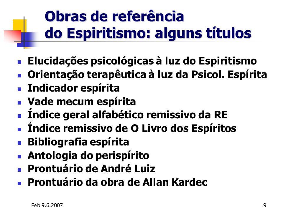 Obras de referência do Espiritismo: alguns títulos