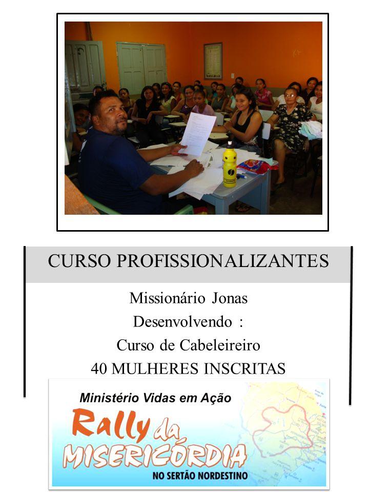 CURSO PROFISSIONALIZANTES