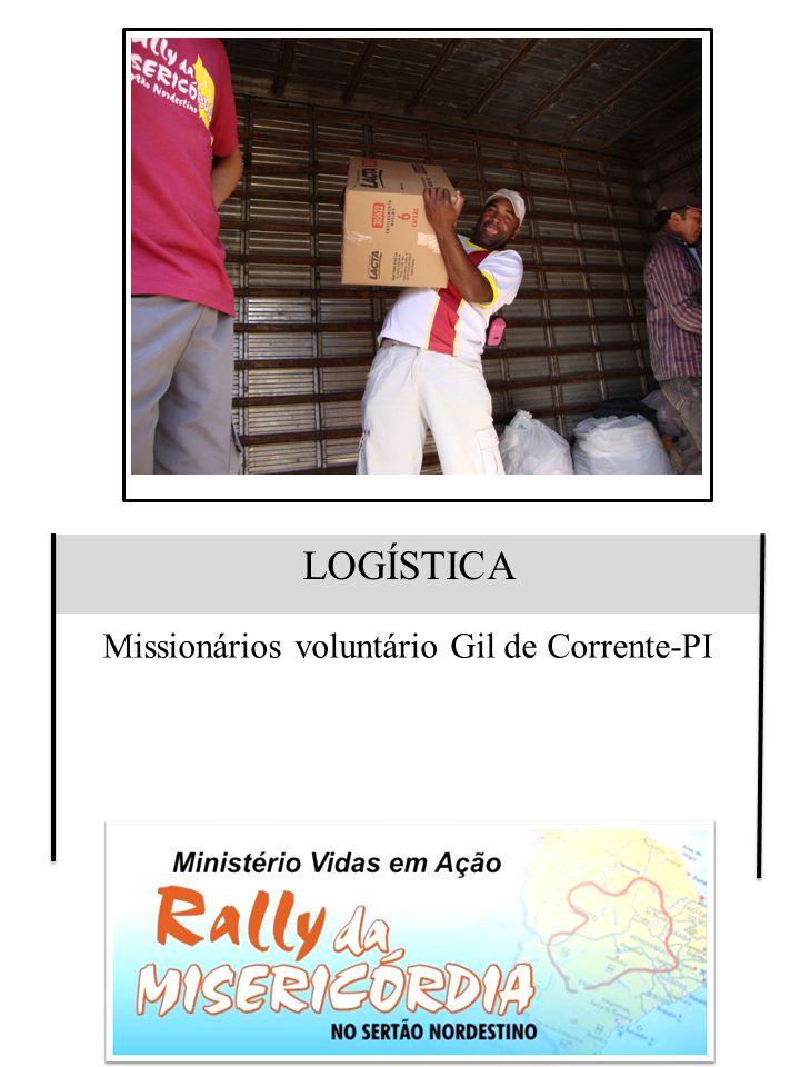 Missionários voluntário Gil de Corrente-PI