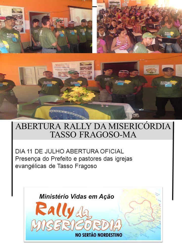 ABERTURA RALLY DA MISERICÓRDIA
