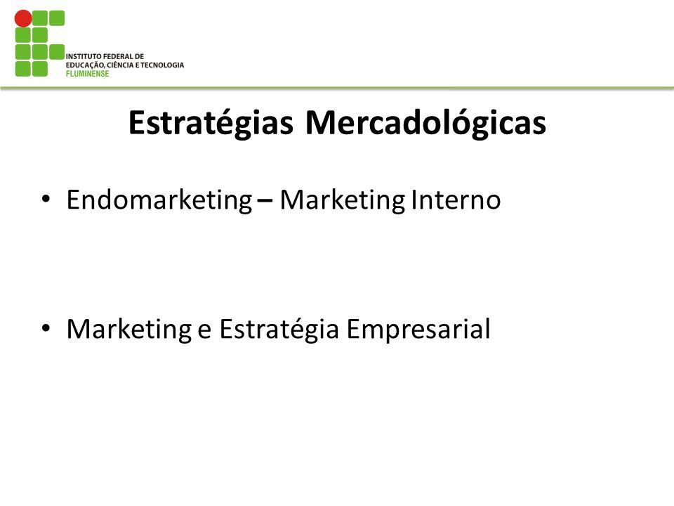 Estratégias Mercadológicas