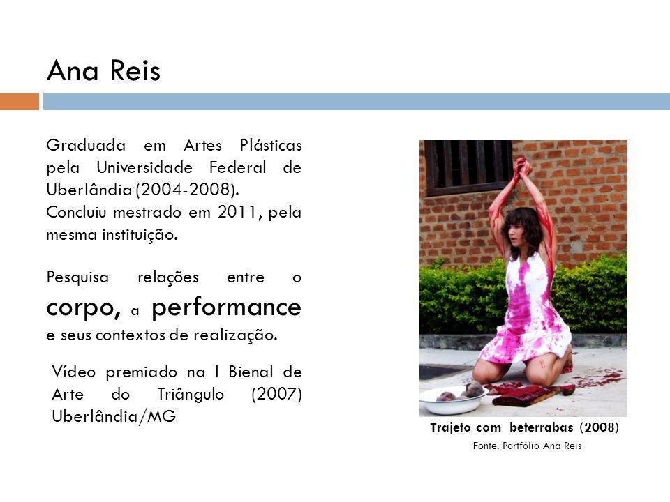 Trajeto com beterrabas (2008)