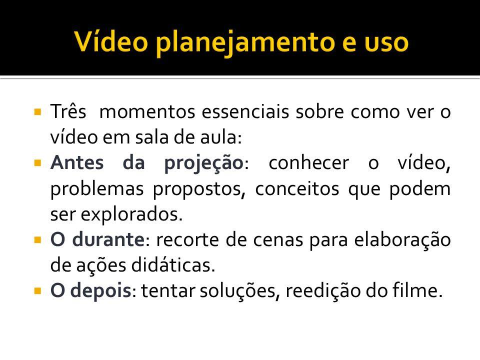 Vídeo planejamento e uso