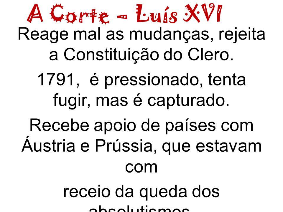 A Corte – Luís XVI