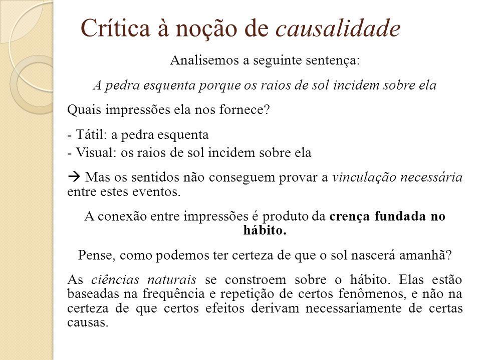 Crítica à noção de causalidade