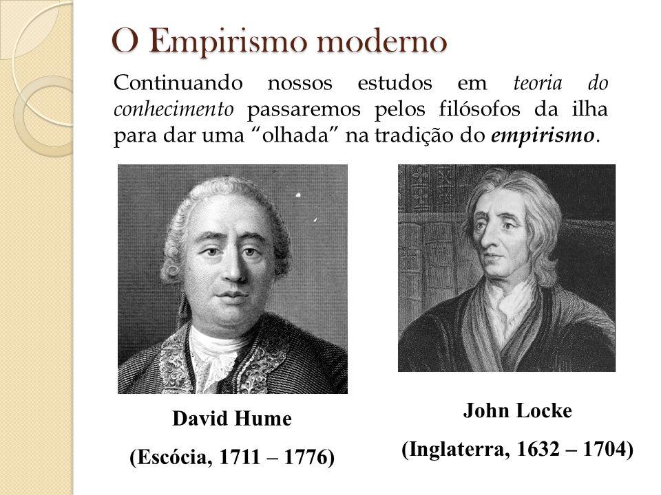 O Empirismo moderno