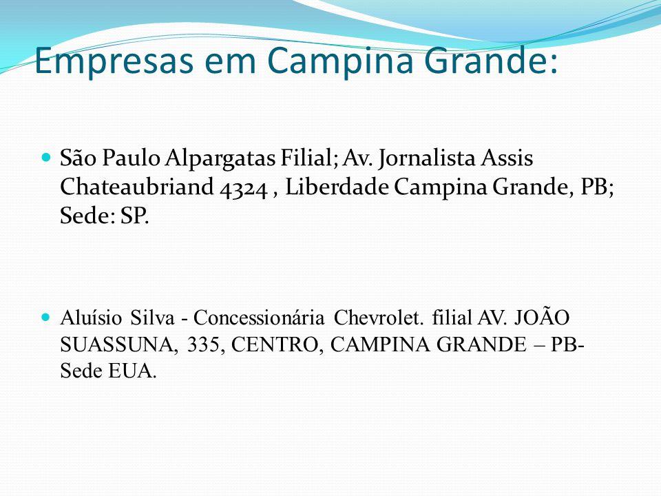 Empresas em Campina Grande: