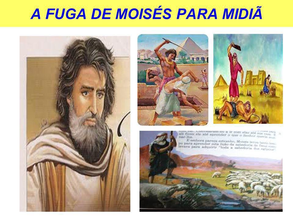 A FUGA DE MOISÉS PARA MIDIÃ