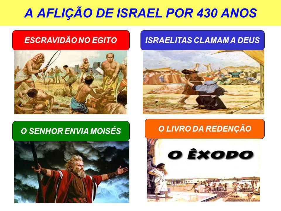A AFLIÇÃO DE ISRAEL POR 430 ANOS