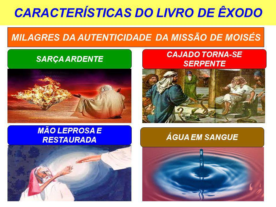 CARACTERÍSTICAS DO LIVRO DE ÊXODO