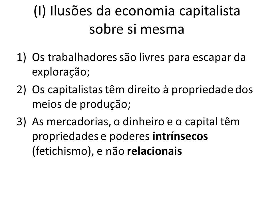 (I) Ilusões da economia capitalista sobre si mesma