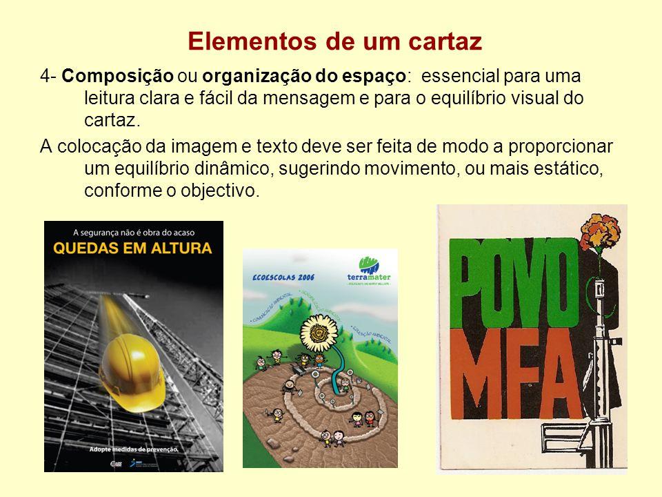 Elementos de um cartaz