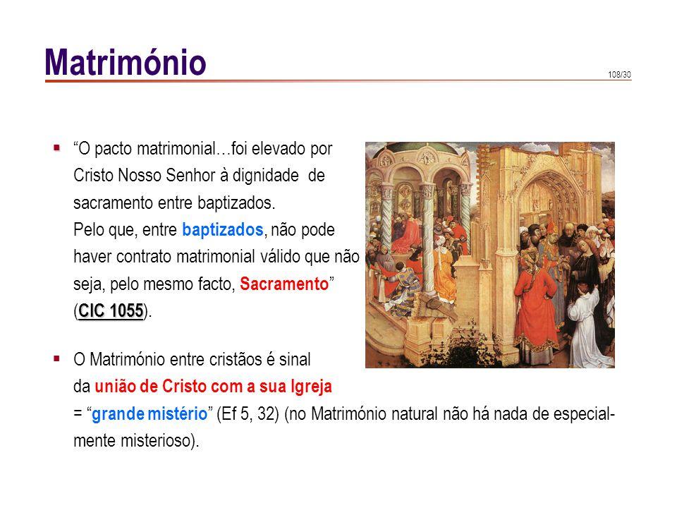 Matrimónio Cristo instituiu o sacramento que santifica o