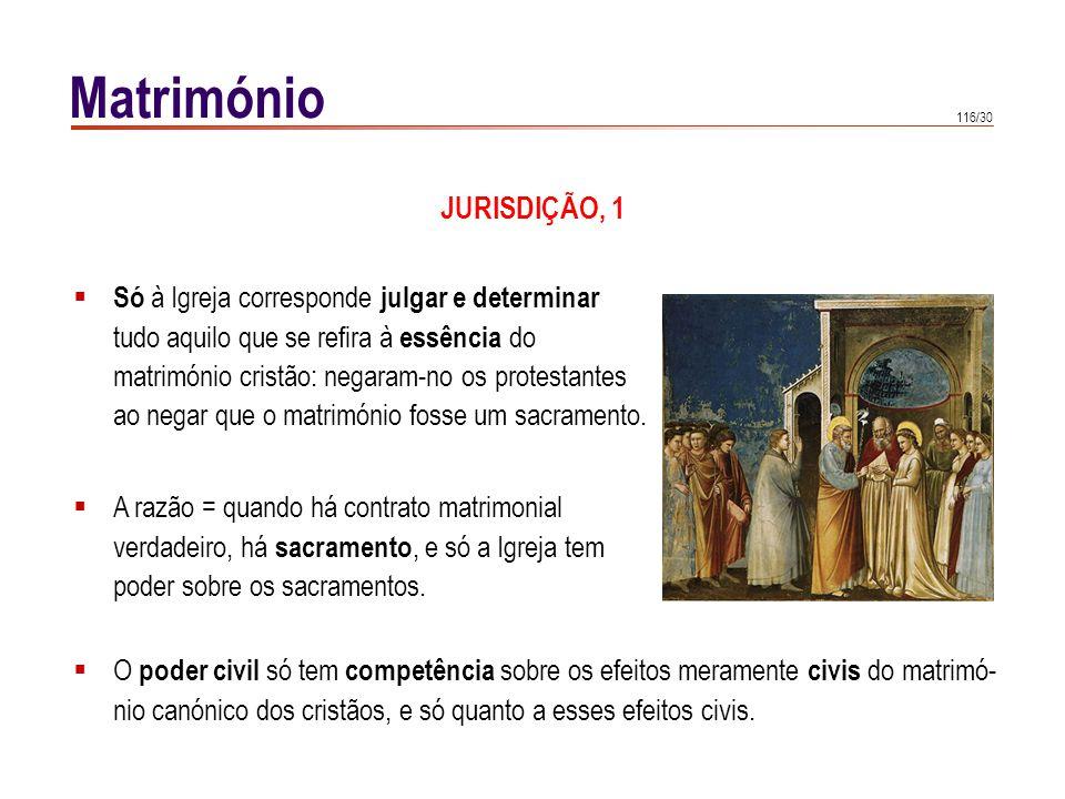 Matrimónio JURISDIÇÃO, 2