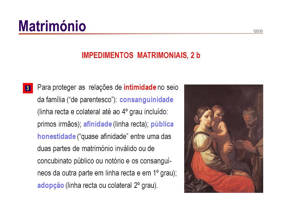 IMPEDIMENTOS MATRIMONIAIS, 2 c