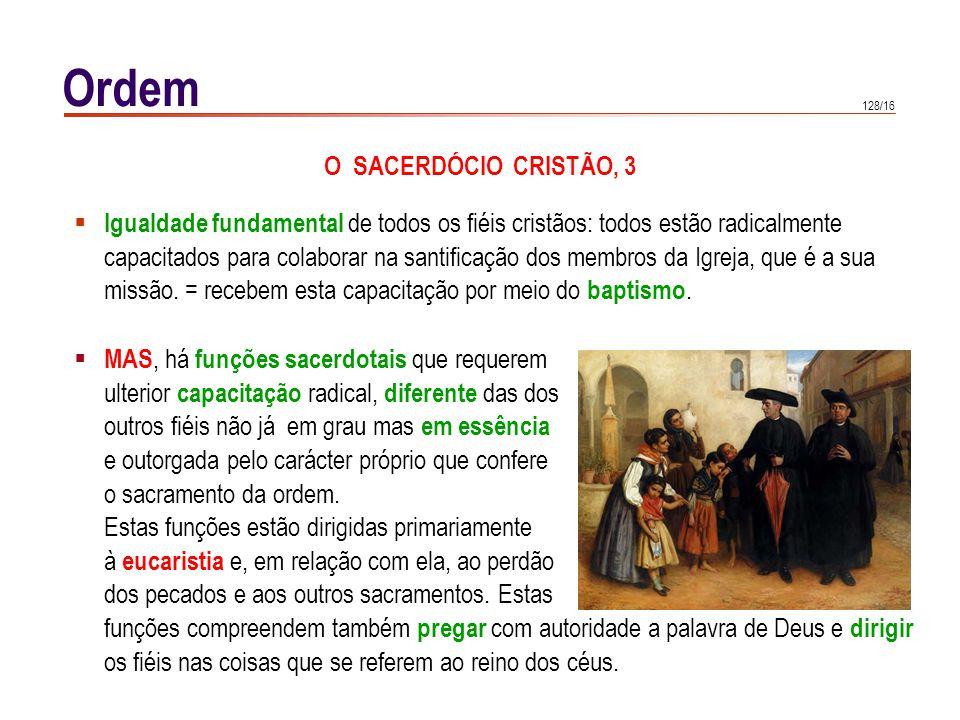 O SACERDÓCIO MINISTERIAL