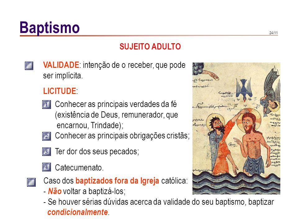 Baptismo SUJEITO CRIANÇA