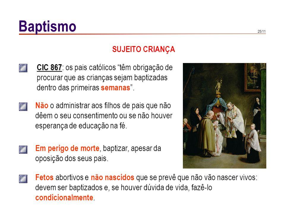 Baptismo EFEITOS.