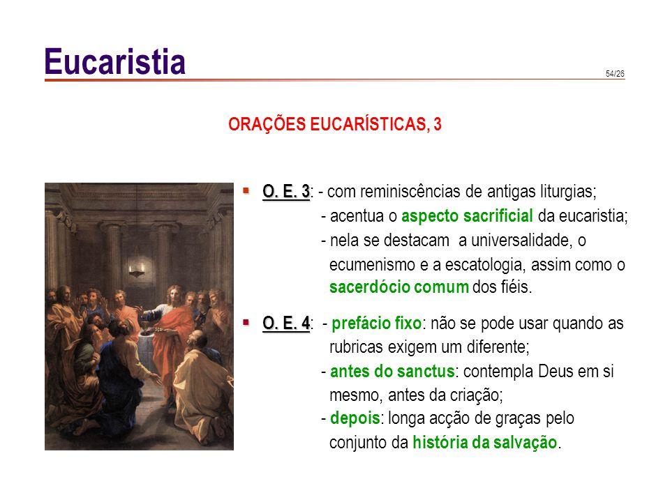 RECEPÇÃO DA EUCARISTIA, 1