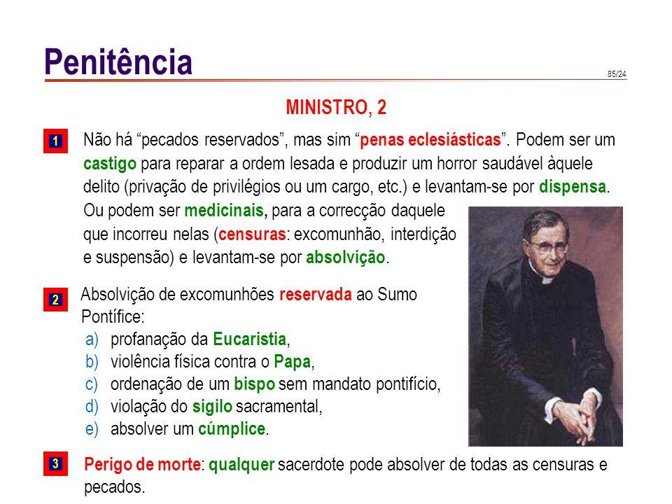 Penitência RITO DESTE SACRAMENTO Actualmente, há três ritos: