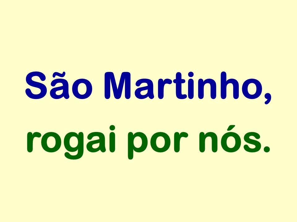 São Martinho, rogai por nós.