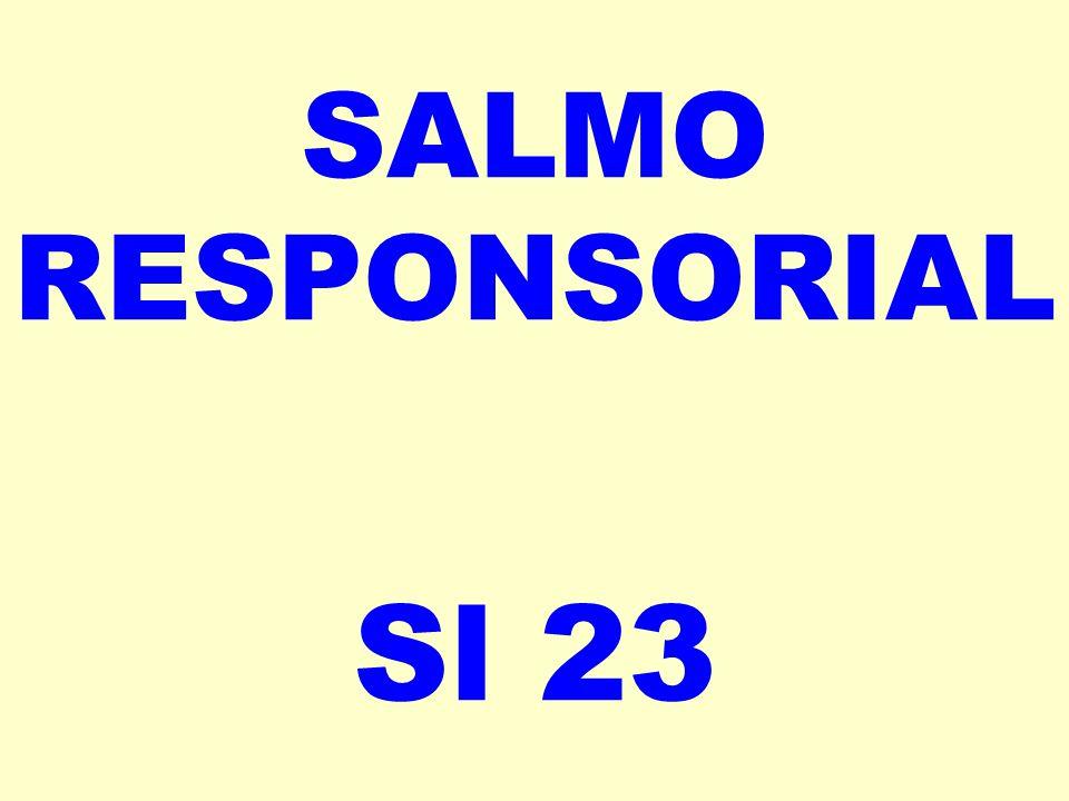 SALMO RESPONSORIAL Sl 23