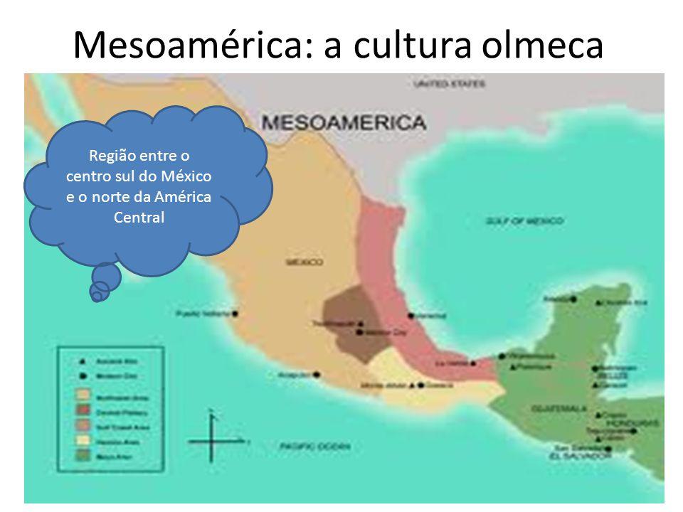 Mesoamérica: a cultura olmeca