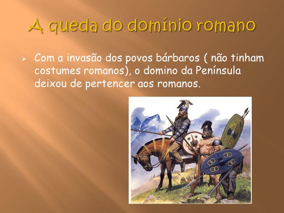 A queda do domínio romano