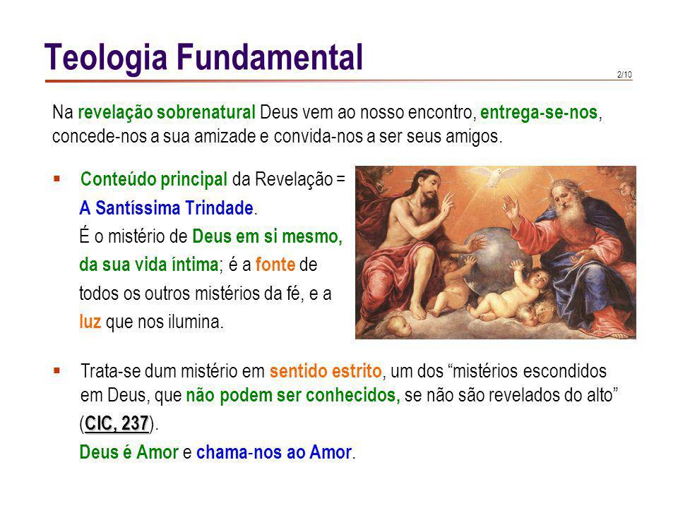 Teologia Fundamental Na Revelação sobrenatural, Deus dirige-se