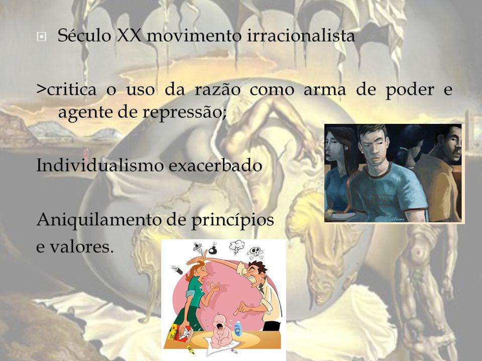 Século XX movimento irracionalista
