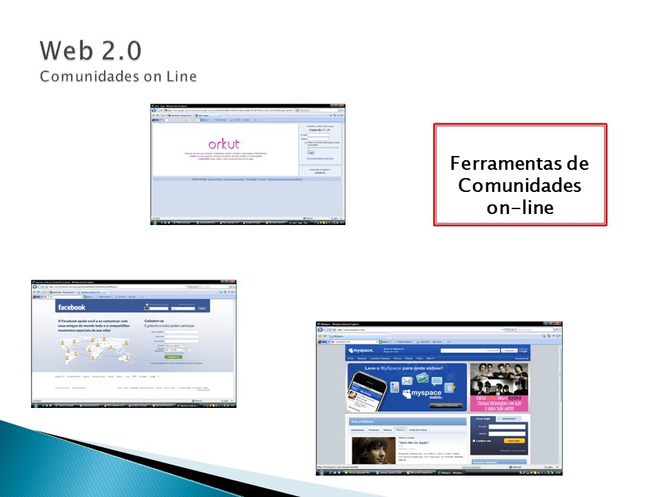 Web 2.0 Comunidades on Line