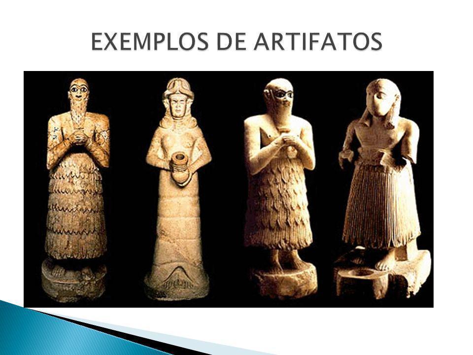 EXEMPLOS DE ARTIFATOS